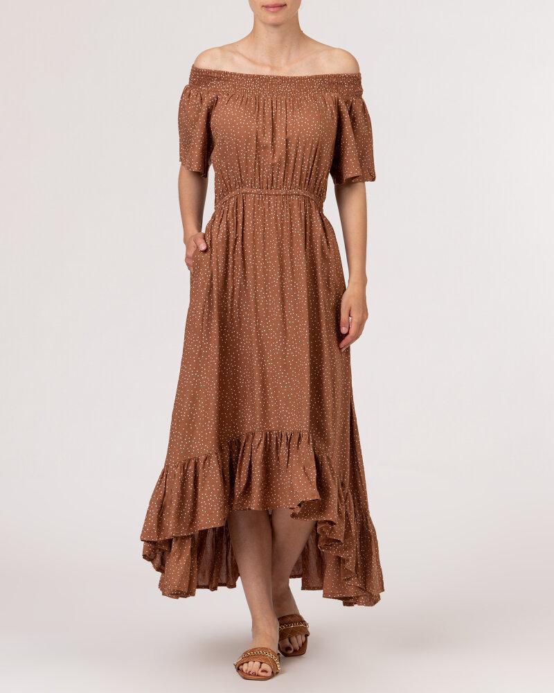 Sukienka Lollys Laundry 21223_3002_HAZEL brązowy - fot:2