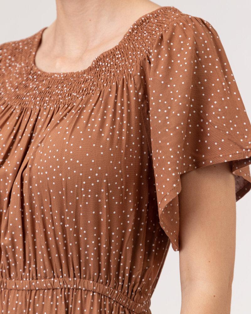 Sukienka Lollys Laundry 21223_3002_HAZEL brązowy - fot:3