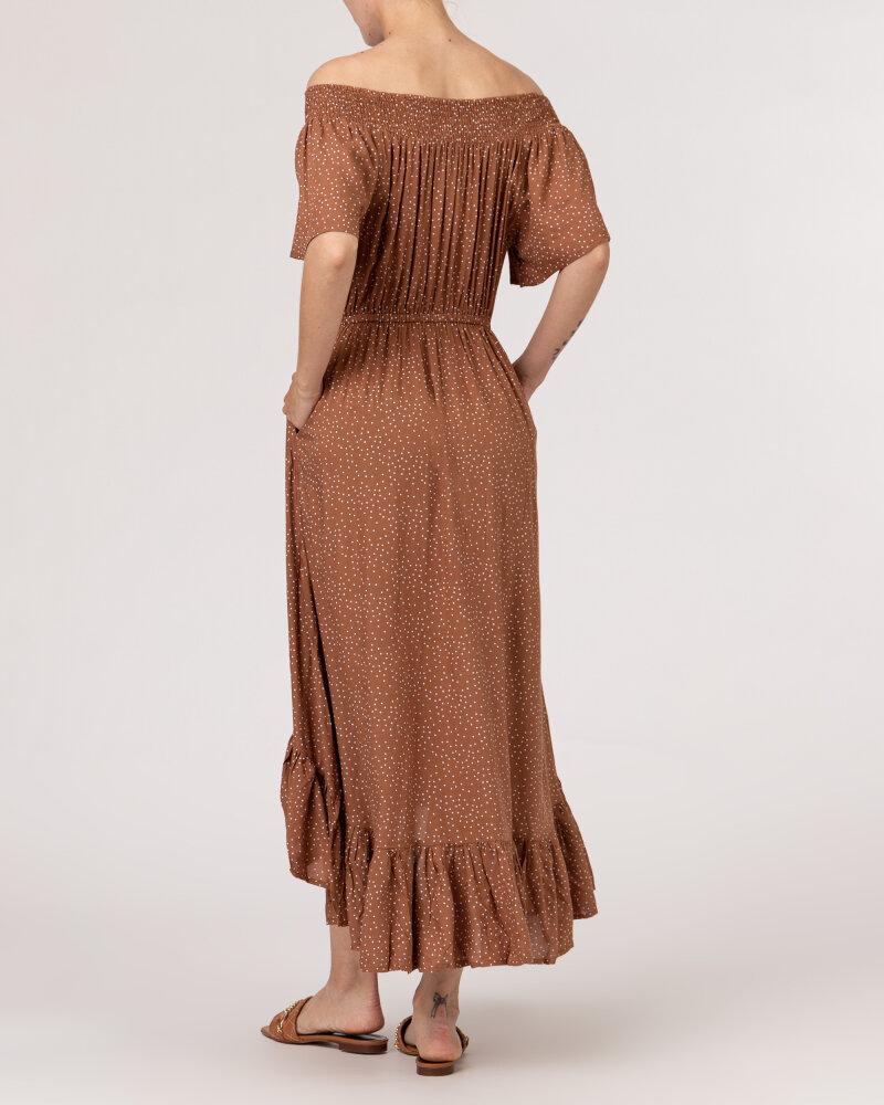 Sukienka Lollys Laundry 21223_3002_HAZEL brązowy - fot:5