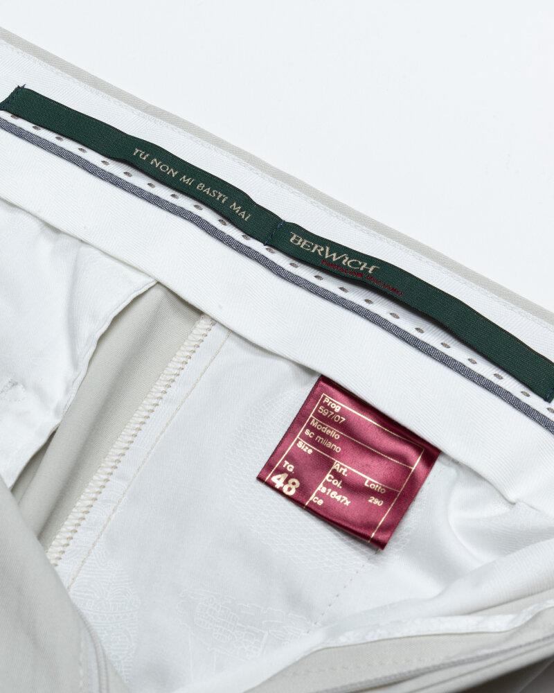 Spodnie Berwich PU07SCMILANOTS1647X_ICE jasnoszary - fot:3
