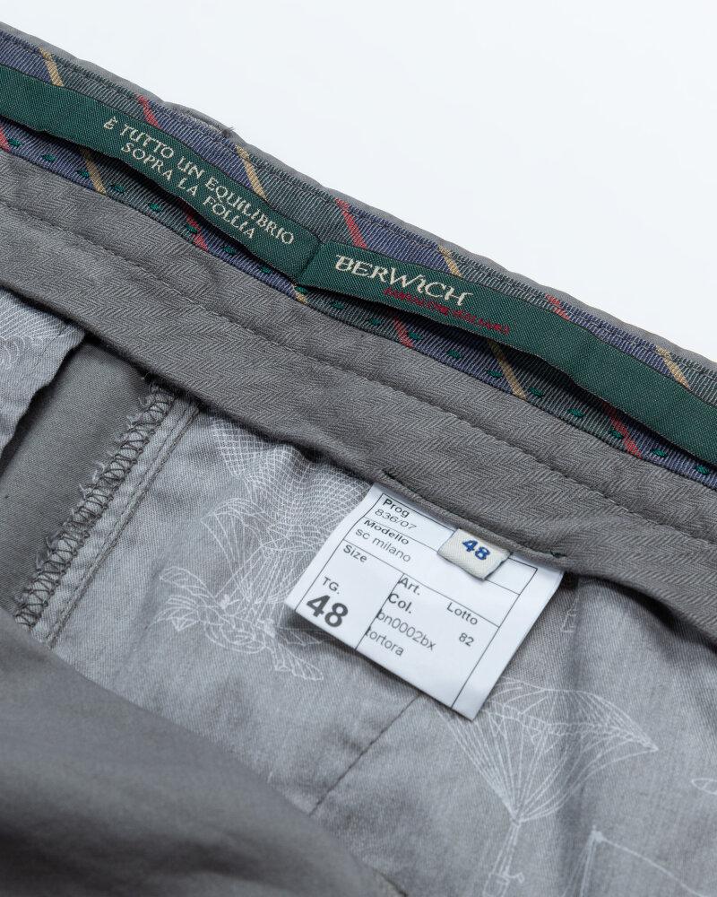 Spodnie Berwich PU07SCMILANOBN0002BX_TORTOR szary - fot:3