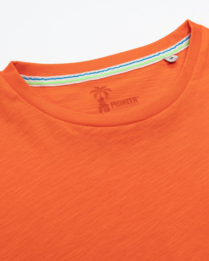 T-Shirt Pioneer Authentic Jeans 07363_04564_917 pomarańczowy - fot:2