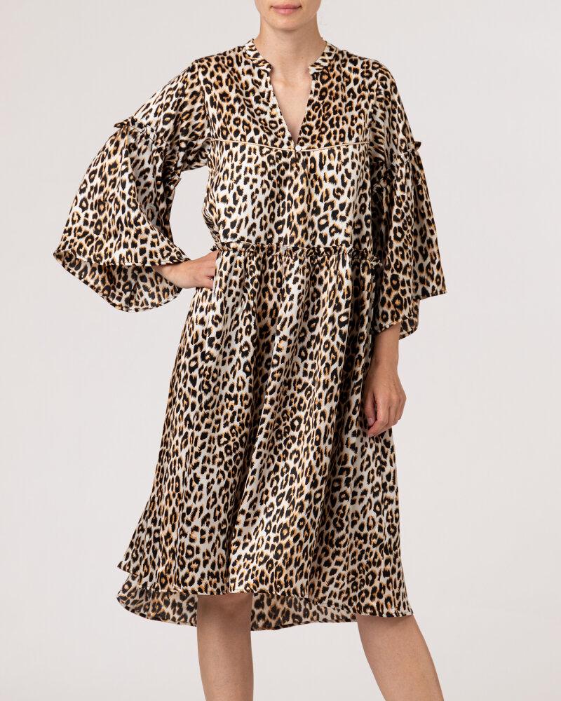 Sukienka Lollys Laundry 21213_3009_LEOPARD PRINT beżowy - fot:2