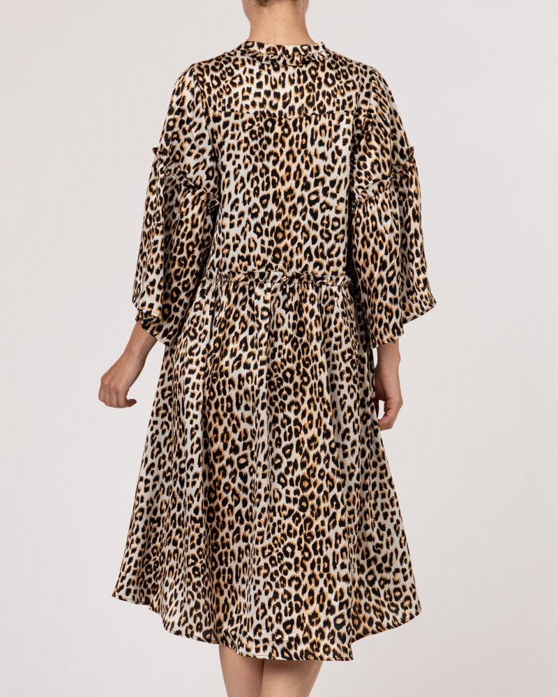 Sukienka Lollys Laundry 21213_3009_LEOPARD PRINT beżowy - fot:4