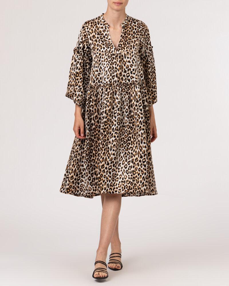 Sukienka Lollys Laundry 21213_3009_LEOPARD PRINT beżowy - fot:5
