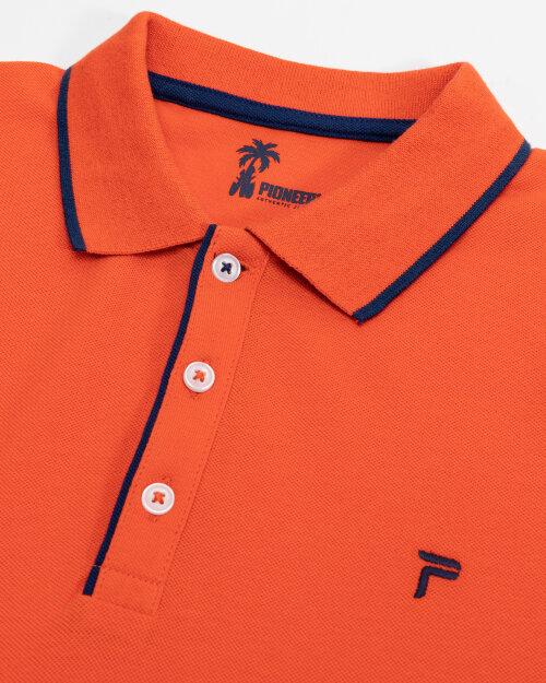 Polo Pioneer Authentic Jeans 07184_04161_917 pomarańczowy