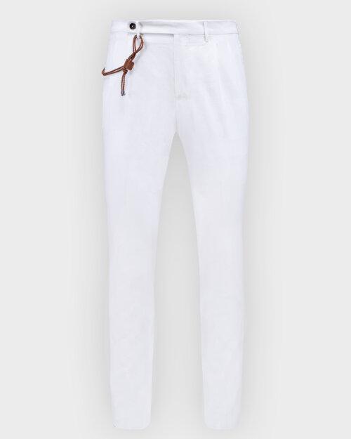 Spodnie Berwich PU07RAFFISB1315X_WHITE biały