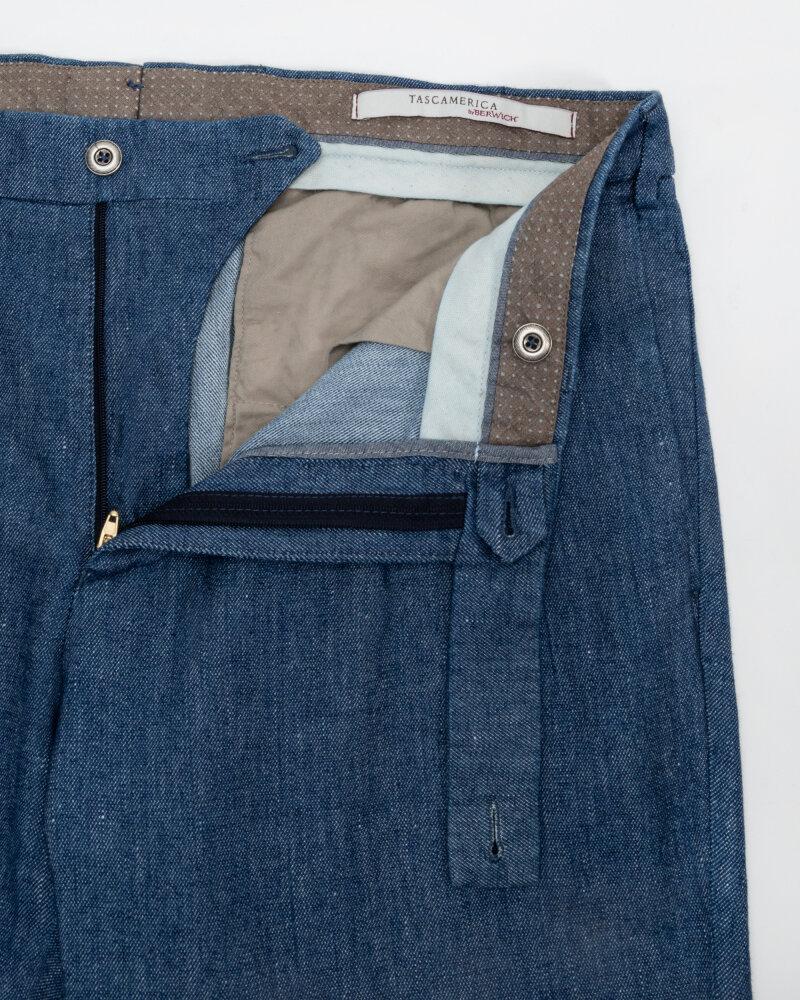 Spodnie Berwich PU07RAFFIDE1025X_BLUE niebieski - fot:2