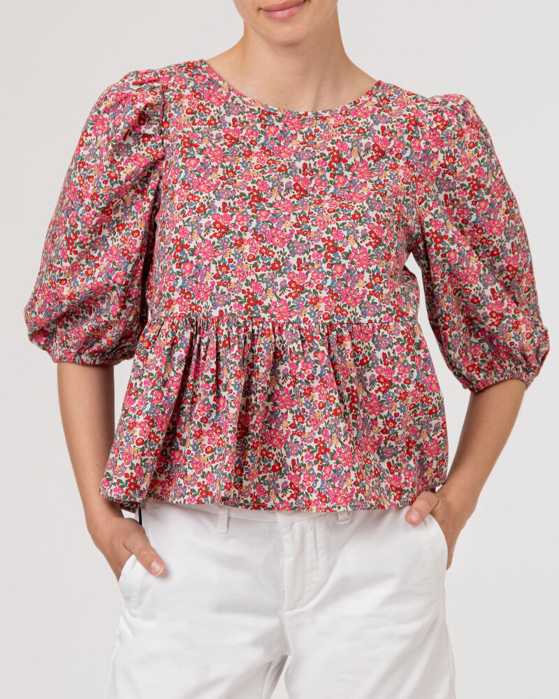 Bluzka Lollys Laundry 21202_1007_FLOWER PRINT różowy - fot:2