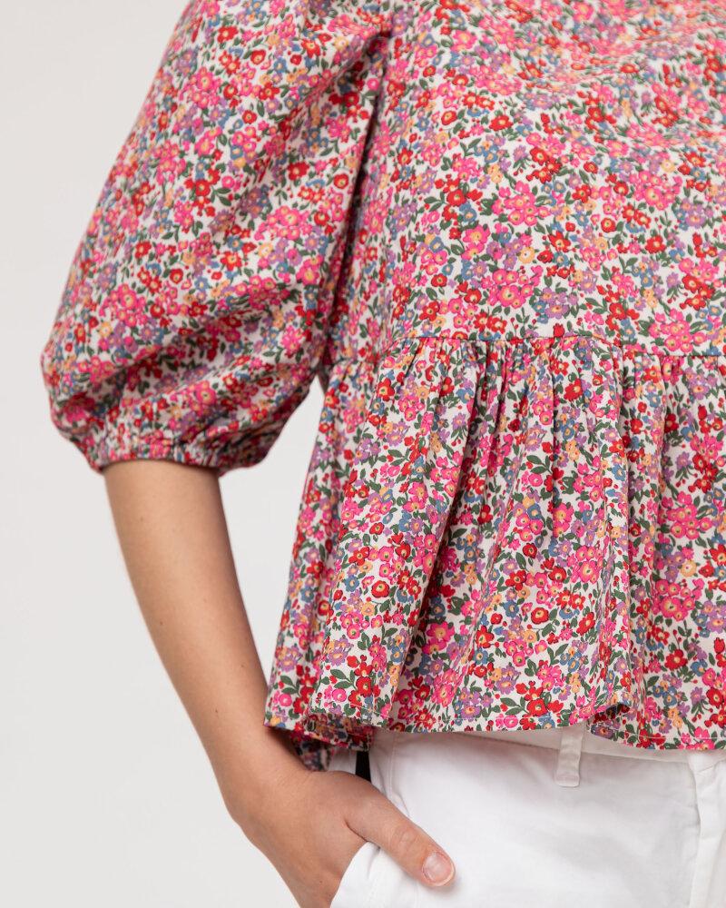Bluzka Lollys Laundry 21202_1007_FLOWER PRINT różowy - fot:3