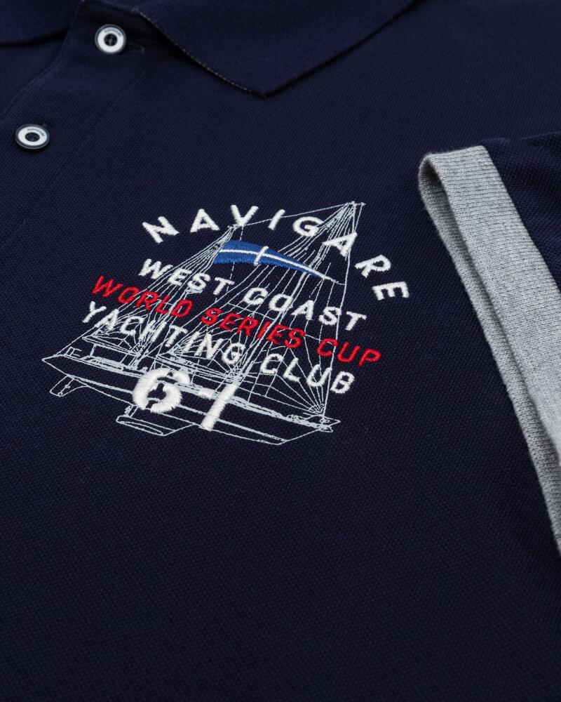 Polo Navigare NV82136_454 granatowy - fot:3