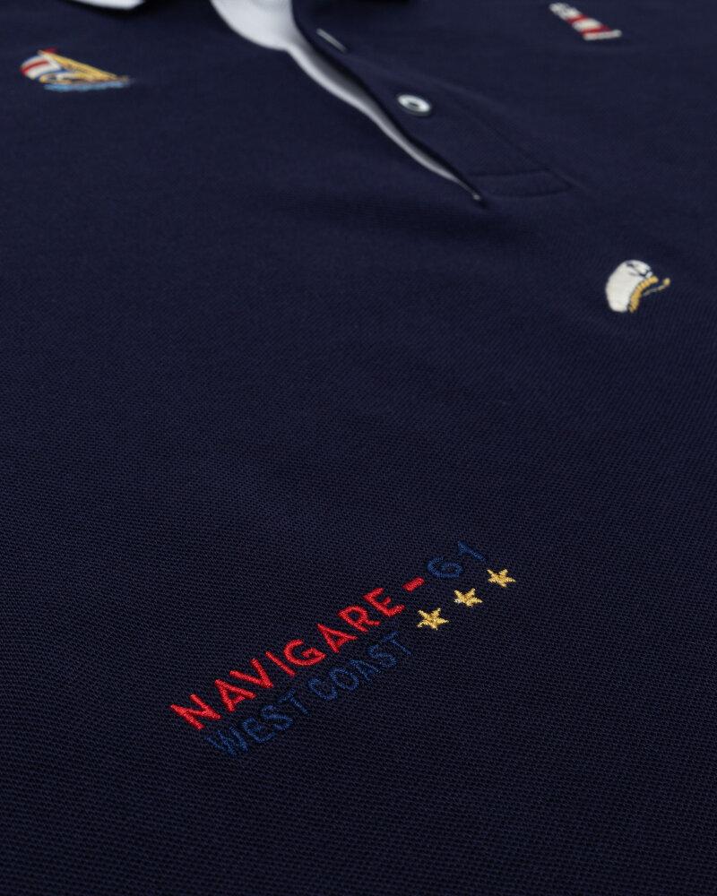 Polo Navigare NV82142_454 granatowy - fot:4