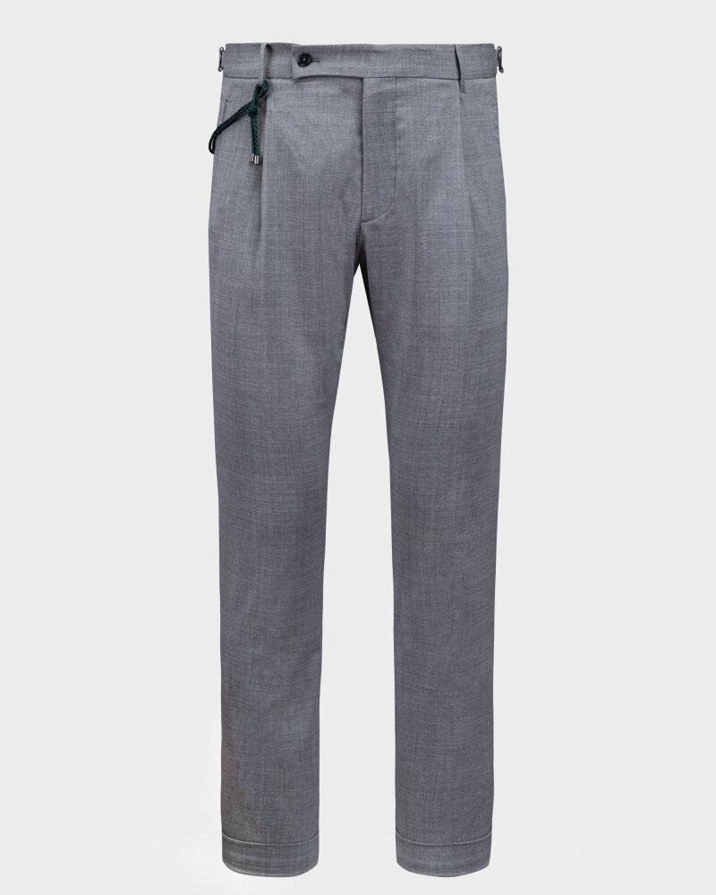 Spodnie Berwich PU07SCMILANOVB101_GREY szary - fot:1