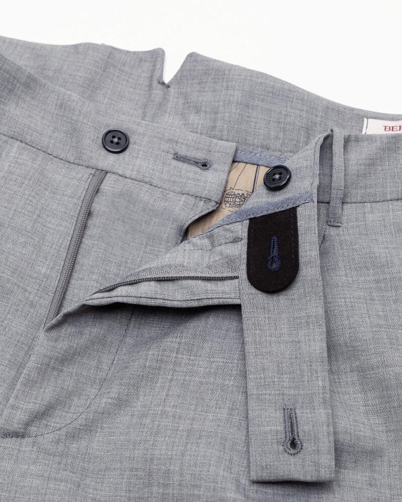Spodnie Berwich PU07SCMILANOVB101_GREY szary - fot:2