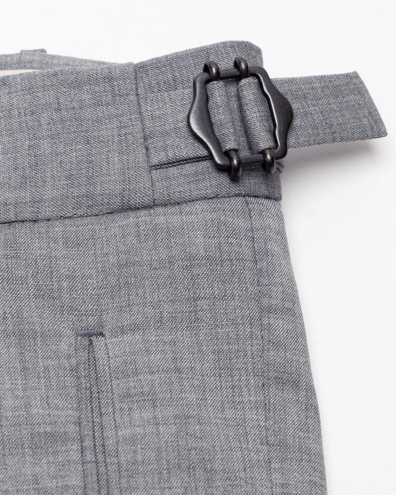 Spodnie Berwich PU07SCMILANOVB101_GREY szary - fot:6