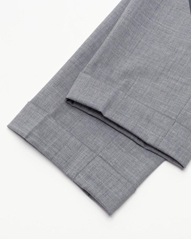 Spodnie Berwich PU07SCMILANOVB101_GREY szary - fot:8