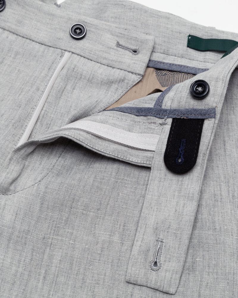 Spodnie Berwich PU07RETROLONGLM104_LIGHT GREY jasnoszary - fot:2