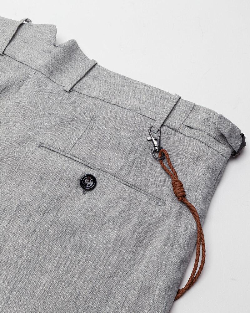 Spodnie Berwich PU07RETROLONGLM104_LIGHT GREY jasnoszary - fot:6