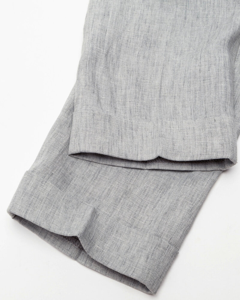 Spodnie Berwich PU07RETROLONGLM104_LIGHT GREY jasnoszary - fot:7