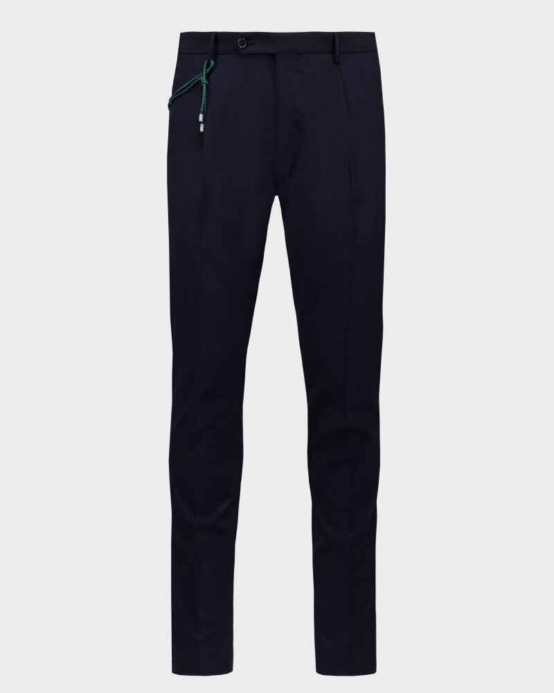 Spodnie Berwich PU07SCMILANOVB101_NAVY granatowy - fot:1