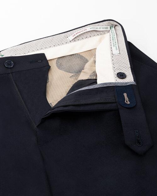 Spodnie Berwich PU07SCMILANOVB101_NAVY granatowy