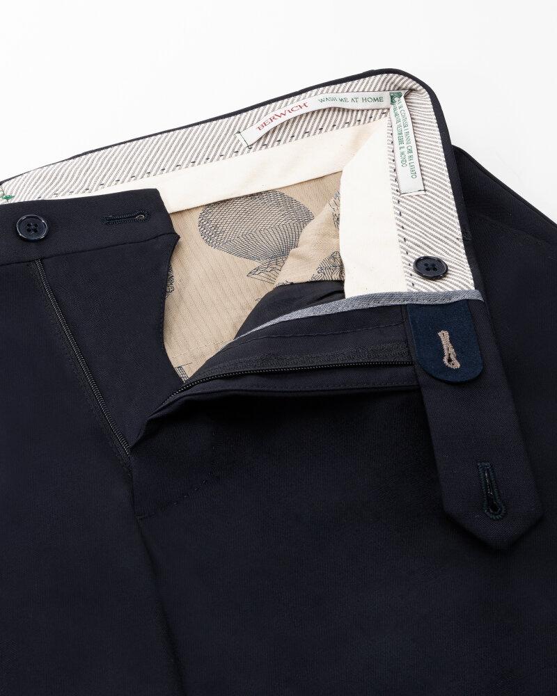 Spodnie Berwich PU07SCMILANOVB101_NAVY granatowy - fot:2