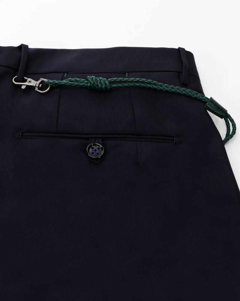 Spodnie Berwich PU07SCMILANOVB101_NAVY granatowy - fot:4