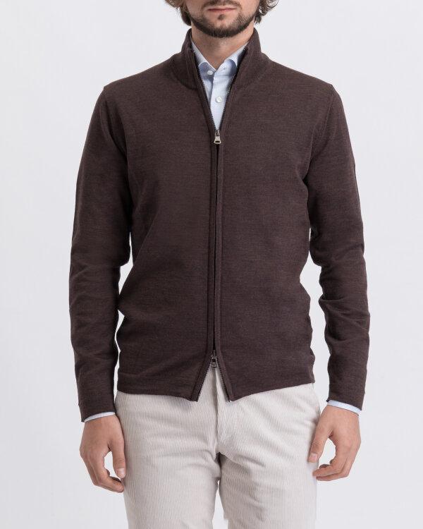 Sweter Oscar Jacobson ARIEL 6603_8023_534 brązowy