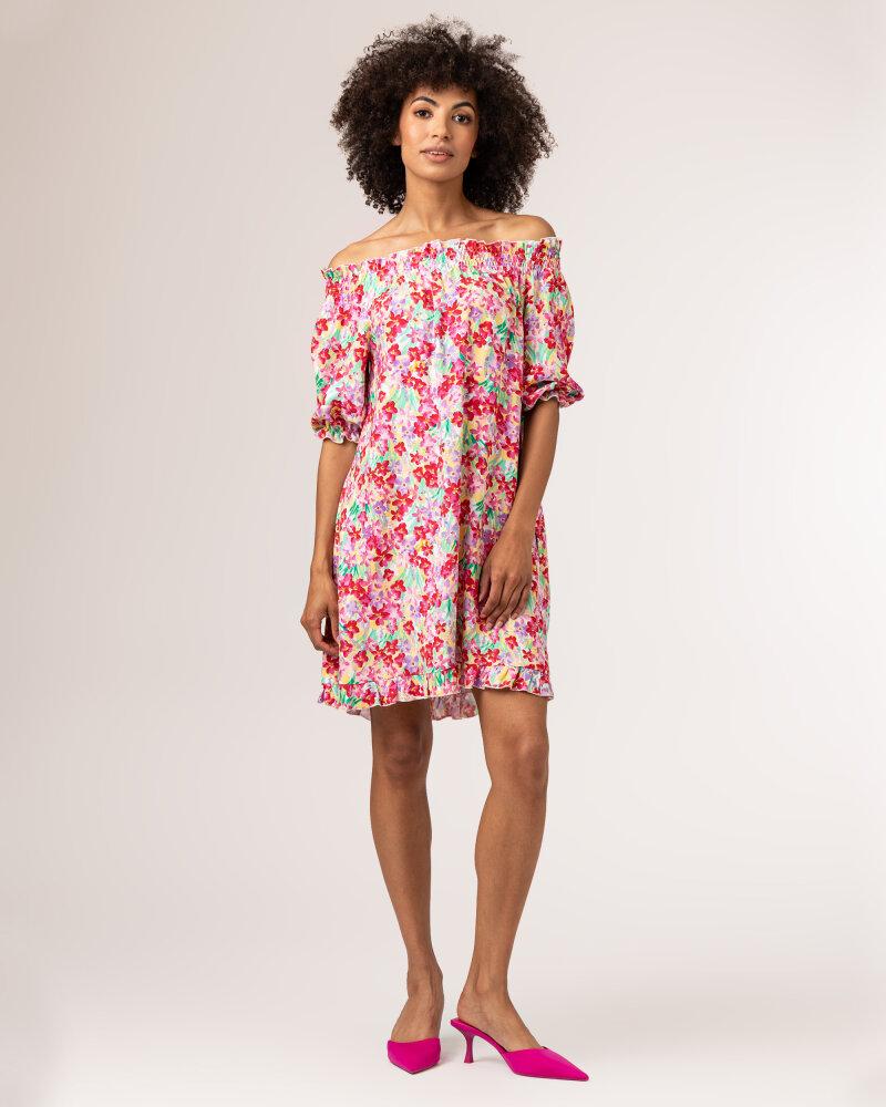 Sukienka Fraternity WL21_FLORENCE_COLORFUL różowy - fot:7