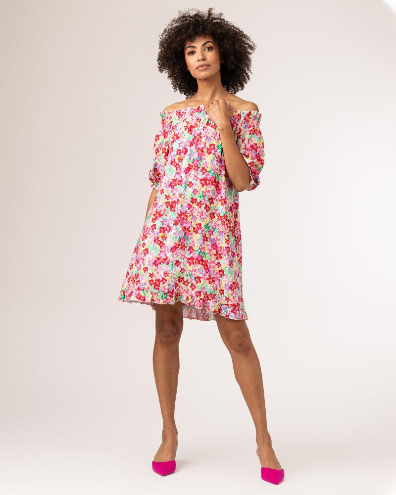 Sukienka Fraternity WL21_FLORENCE_COLORFUL różowy - fot:9
