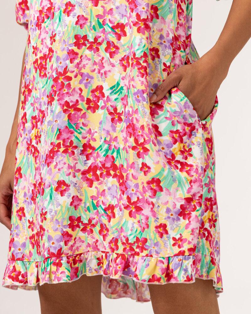 Sukienka Fraternity WL21_FLORENCE_COLORFUL różowy - fot:6