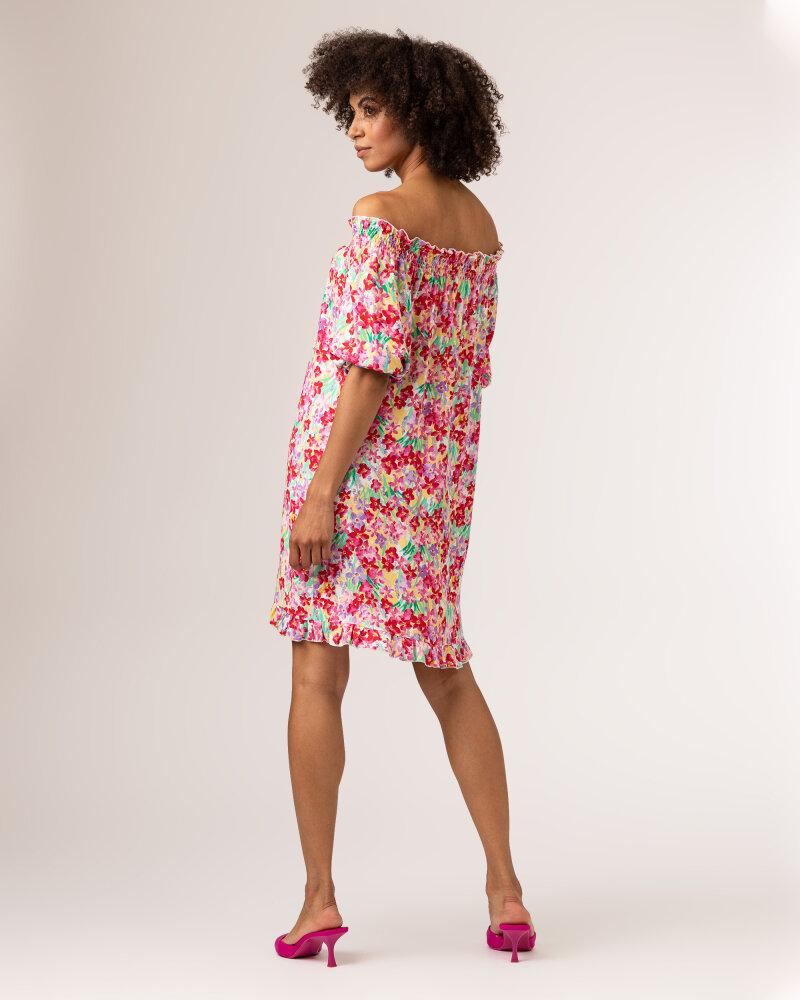 Sukienka Fraternity WL21_FLORENCE_COLORFUL różowy - fot:4