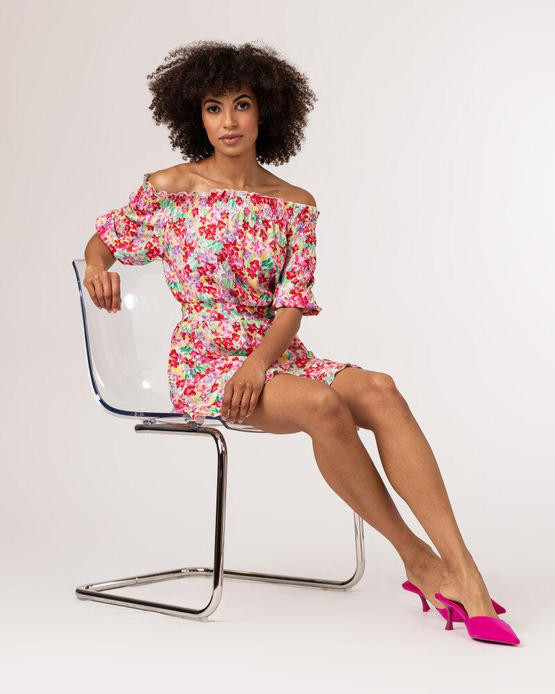 Sukienka Fraternity WL21_FLORENCE_COLORFUL różowy - fot:8