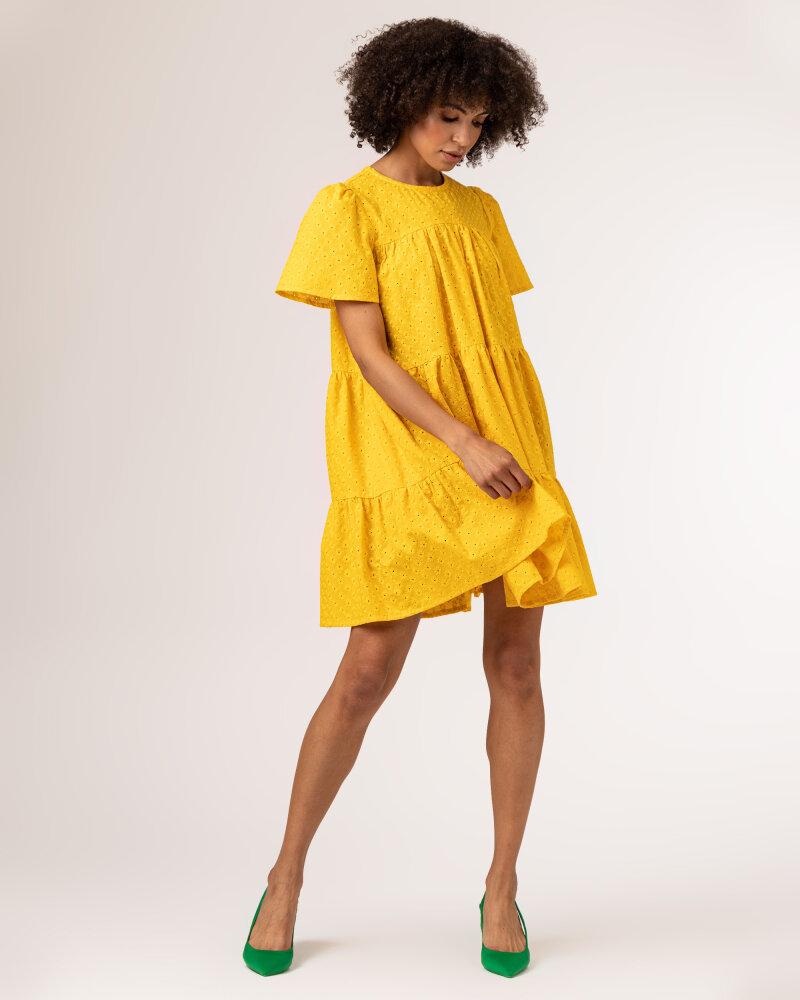 Sukienka Fraternity WL21_JULIETTE_YELLOW żółty - fot:8