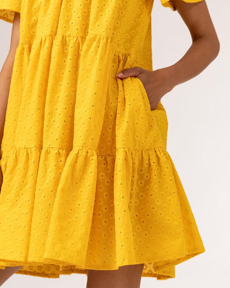 Sukienka Fraternity WL21_JULIETTE_YELLOW żółty - fot:6
