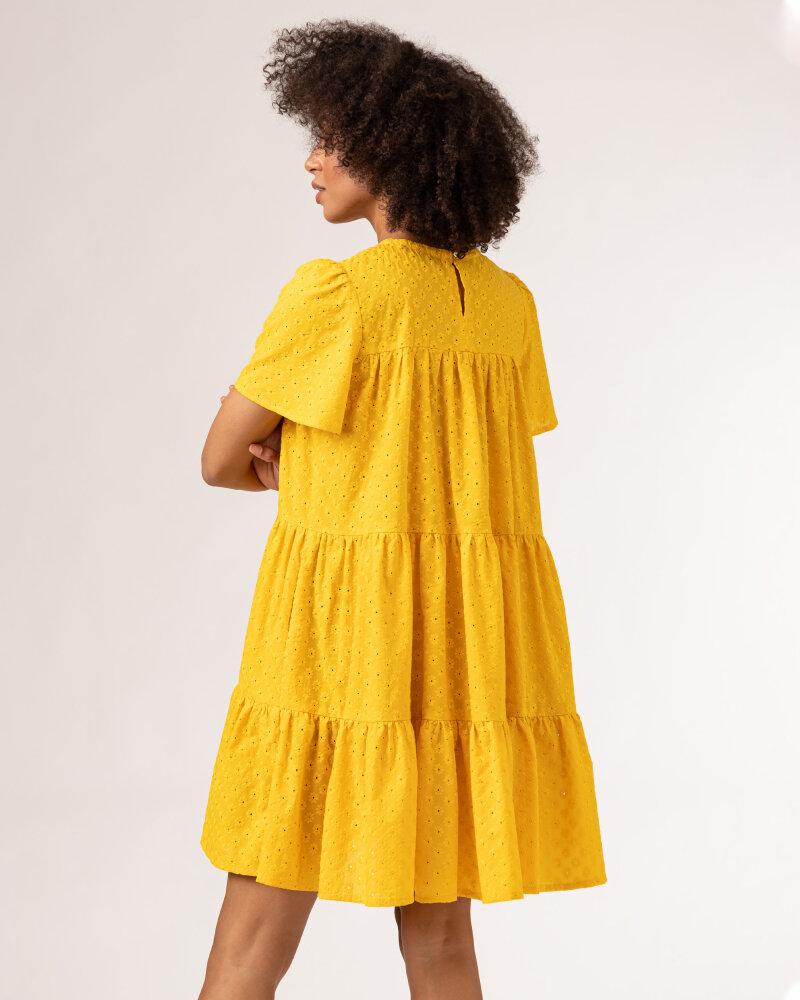 Sukienka Fraternity WL21_JULIETTE_YELLOW żółty - fot:5