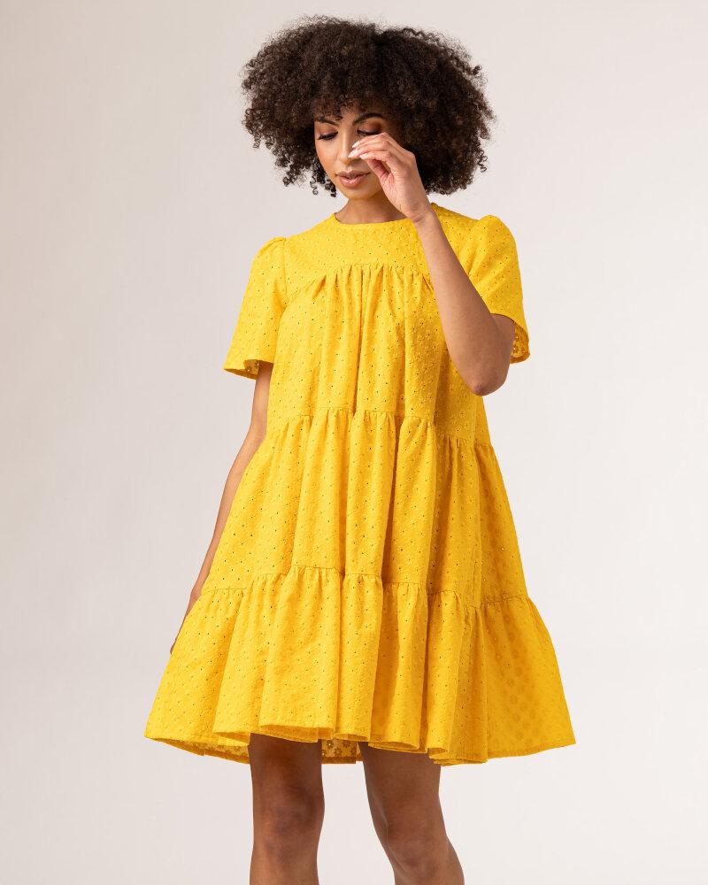 Sukienka Fraternity WL21_JULIETTE_YELLOW żółty - fot:3