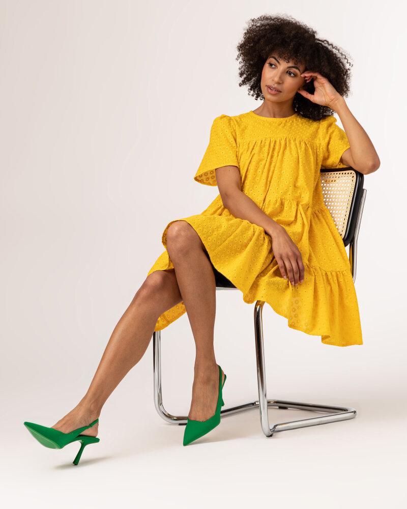 Sukienka Fraternity WL21_JULIETTE_YELLOW żółty - fot:7