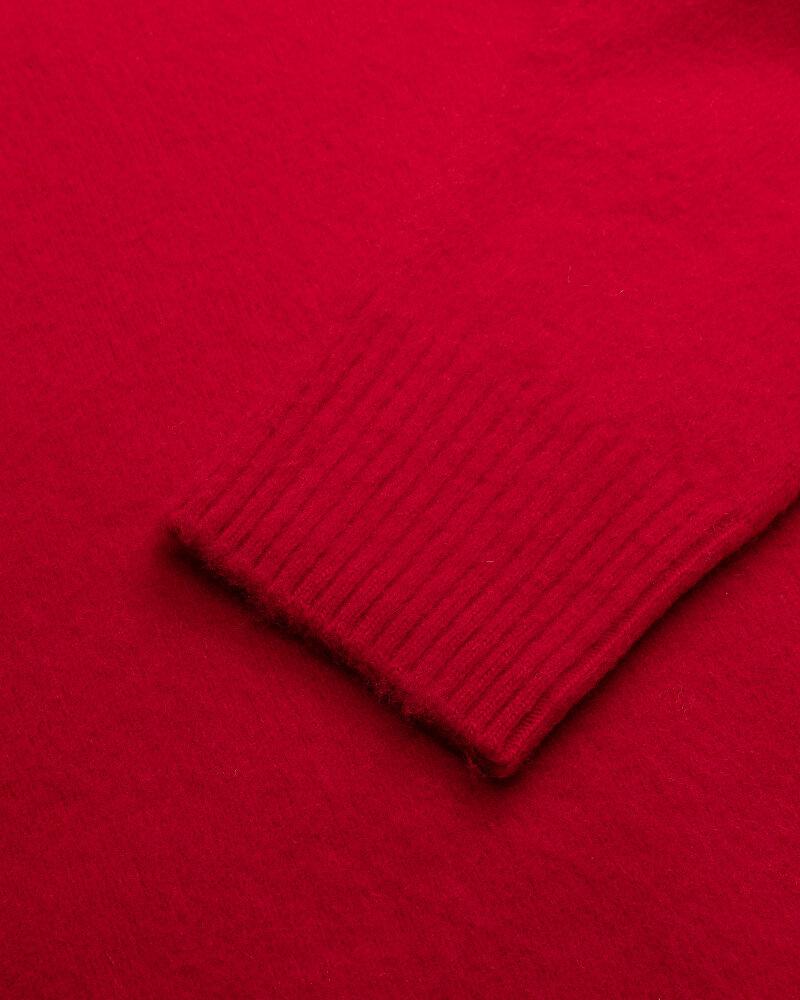 Sweter Dondup UT103_M00807U_500 czerwony - fot:3