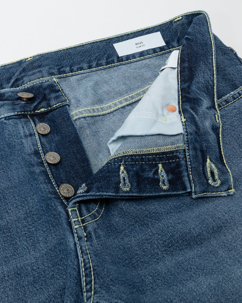 Spodnie Dondup UP168_DF0239U_800 niebieski - fot:2