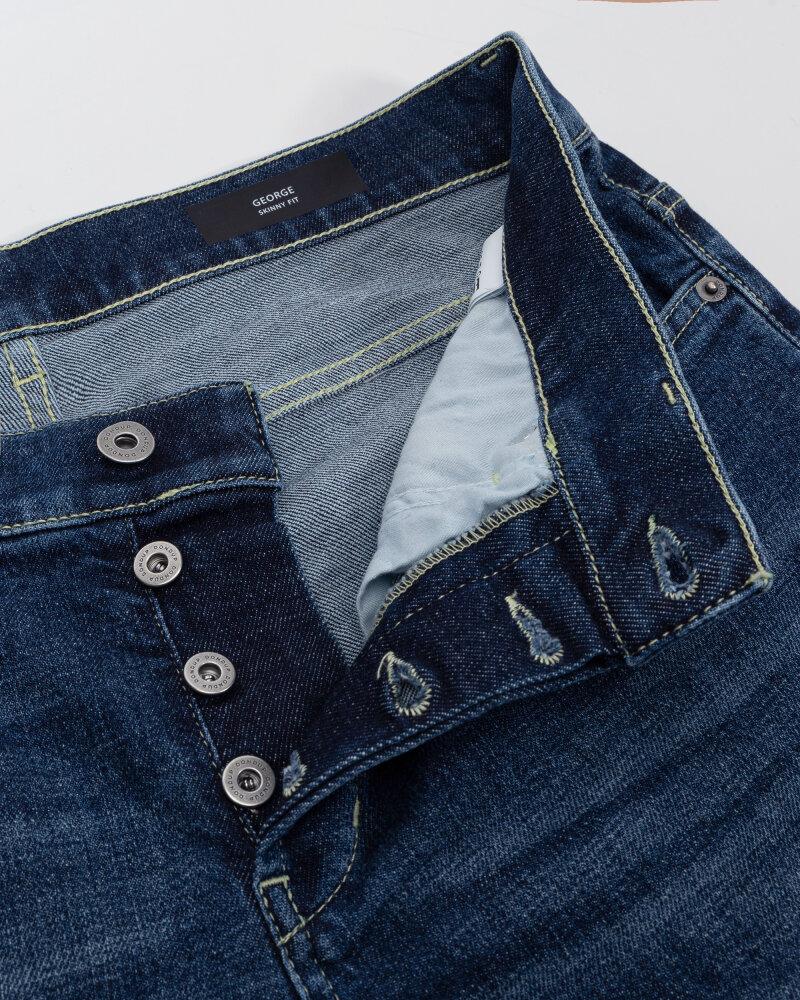 Spodnie Dondup UP232_DS0307U_800 niebieski - fot:2