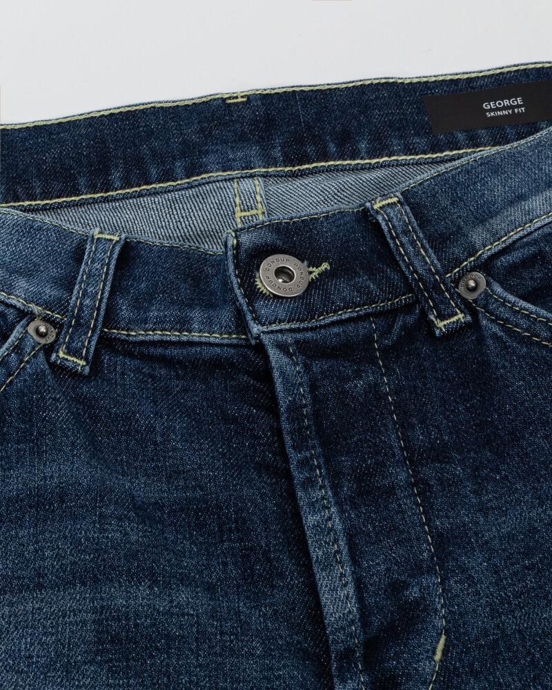 Spodnie Dondup UP232_DS0307U_800 niebieski - fot:4