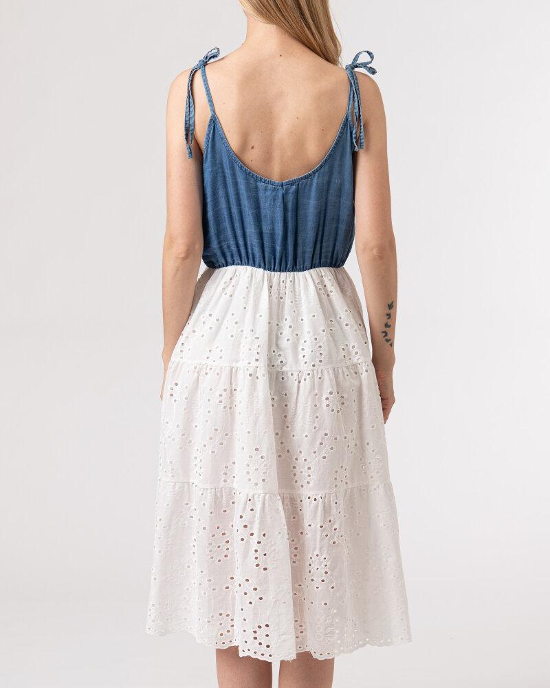 Sukienka Le Journal Coco 11DSU1058J_JEANS biały - fot:4