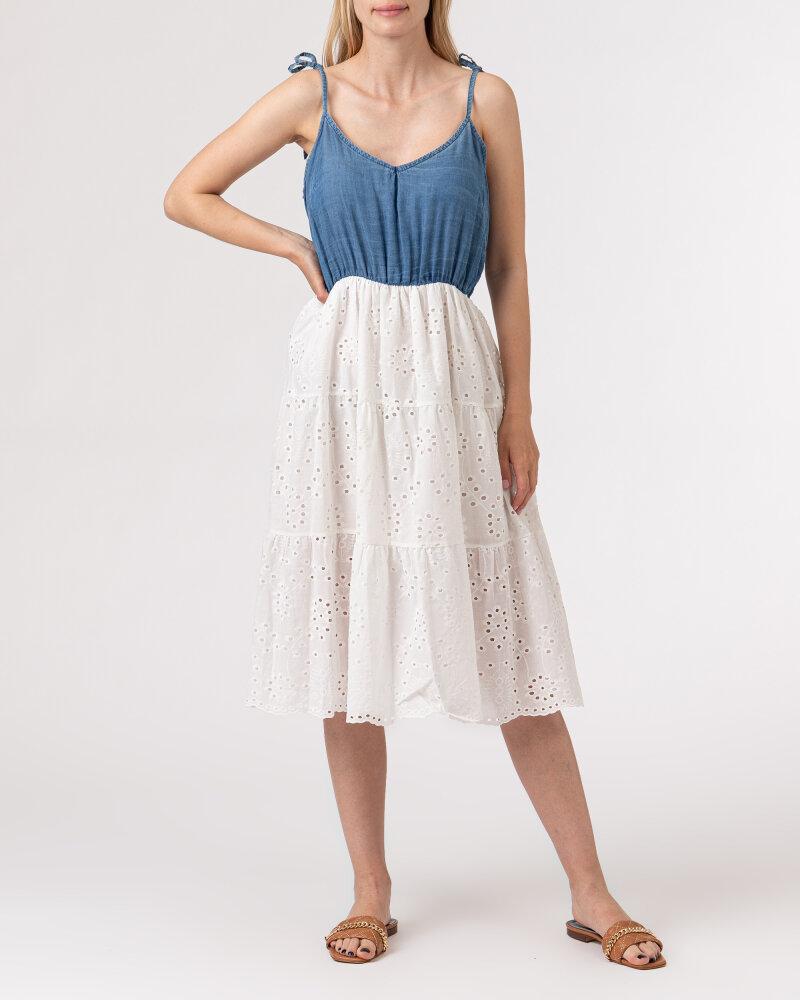 Sukienka Le Journal Coco 11DSU1058J_JEANS biały - fot:5