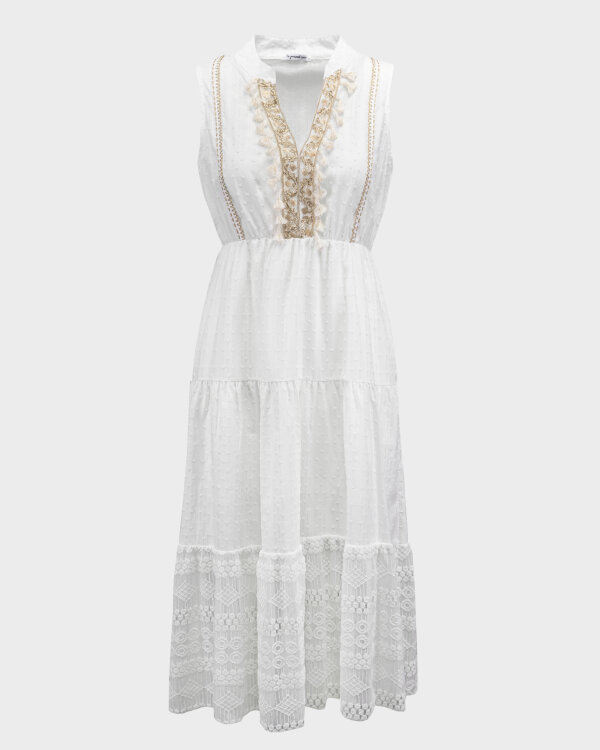 Sukienka Le Journal Coco 11DSU8196B_BIAŁY biały