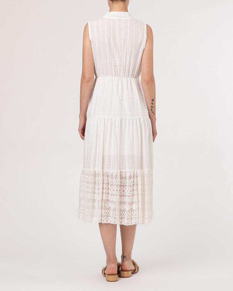 Sukienka Le Journal Coco 11DSU8196B_BIAŁY biały - fot:4
