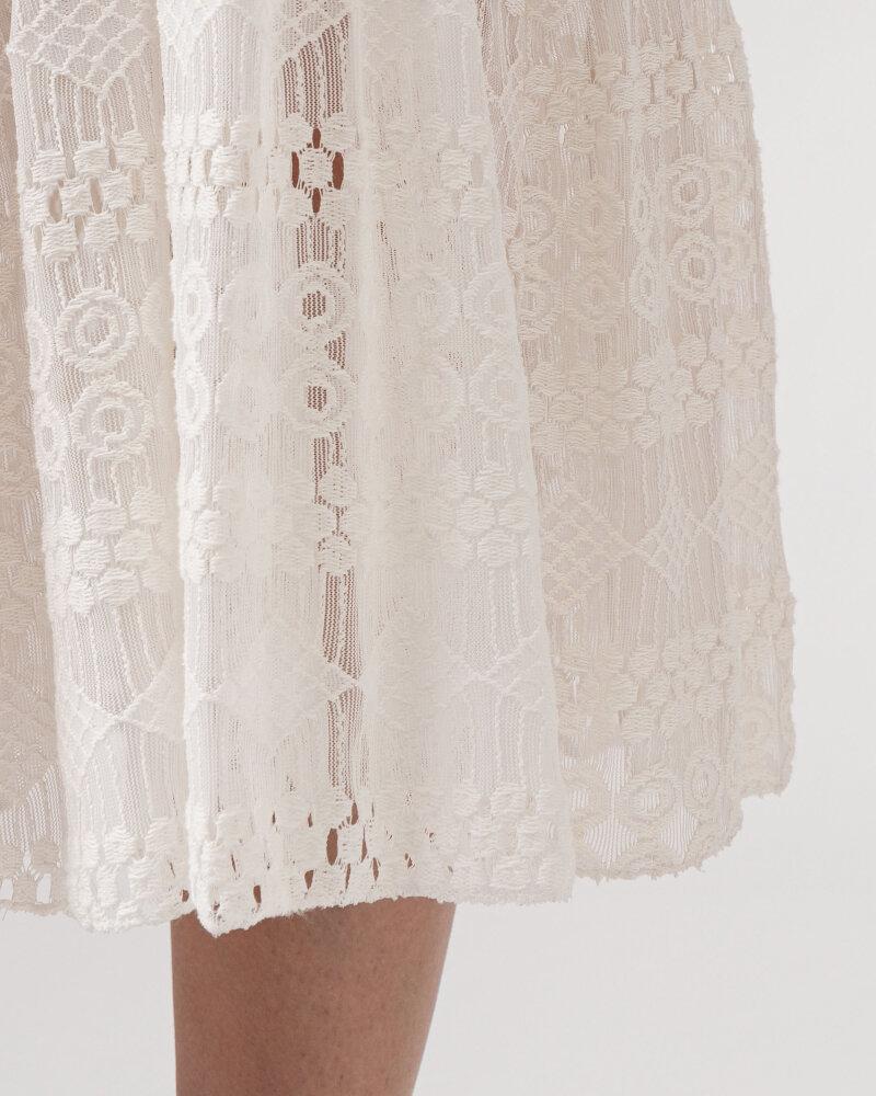 Sukienka Le Journal Coco 11DSU8196B_BIAŁY biały - fot:5