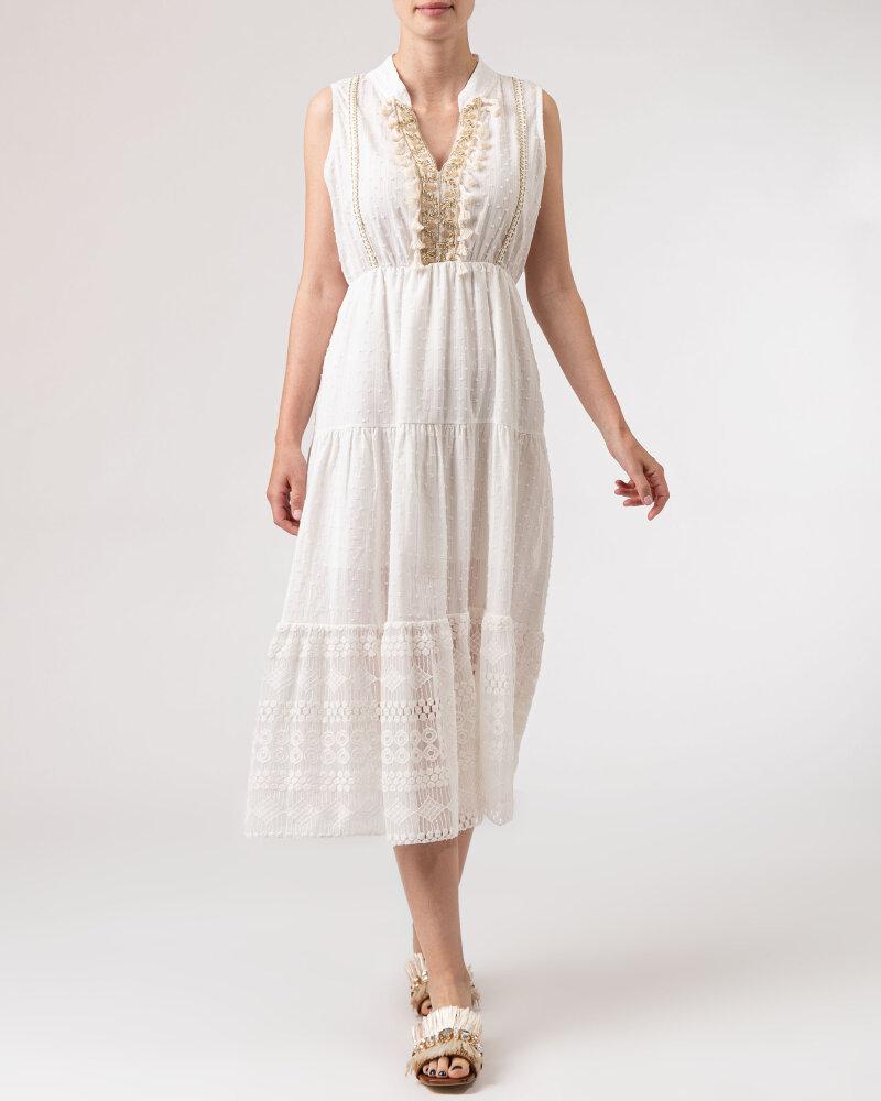 Sukienka Le Journal Coco 11DSU8196B_BIAŁY biały - fot:6