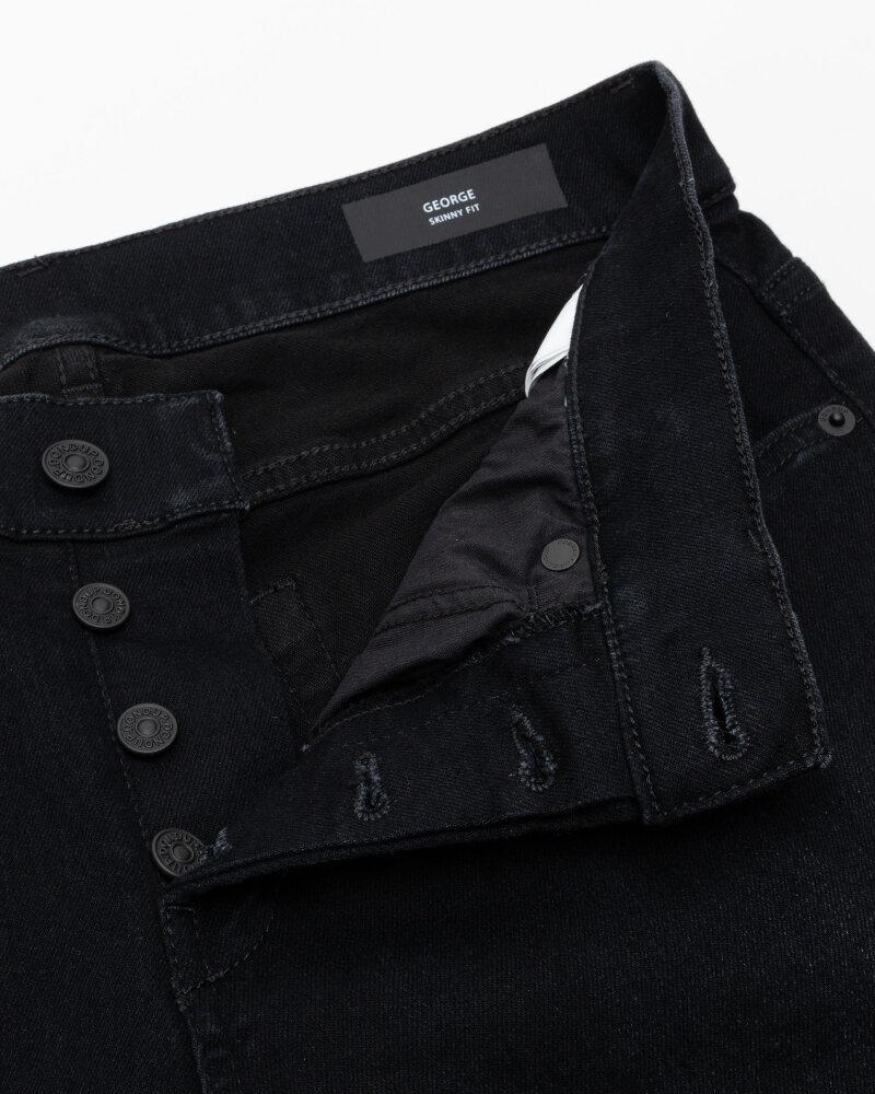 Spodnie Dondup UP232_DSE249U_999 czarny - fot:2