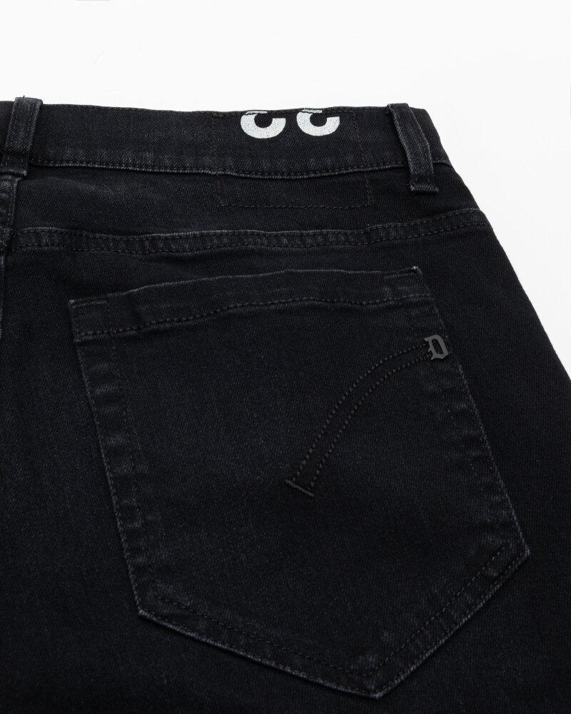 Spodnie Dondup UP232_DSE249U_999 czarny - fot:3